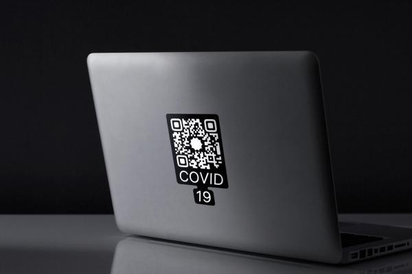 У коронавируса теперь есть логотип. Конечно же, постаралась студия Артемия Лебедева