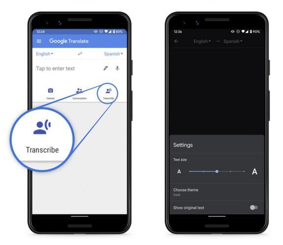 В Google Переводчике появится функция синхроперевода. Живая речь и аудиозаписи могут легко стать текстом