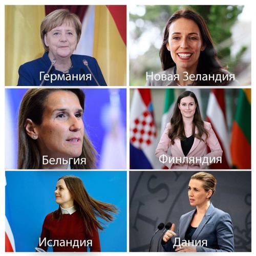 Государства во главе с женщинами успешно борются с COVID-19. Так ли это и в чём секрет лидеров женского пола