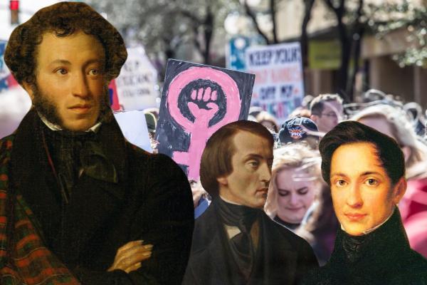 """""""Какой же Пушкин был..."""" Феминистки осудили солнце русской поэзии, и от их комментариев многим не по себе"""
