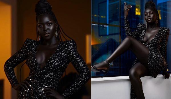 """""""Я её не вижу"""". Модель из Южного Судана попала в Книгу рекордов Гиннесса - а люди прочат ей карьеру шпионки"""