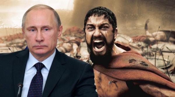 """""""Это (не) Спарта!"""" Владимир Путин забыл о половцах и печенегах: теперь его враг - спартанцы"""