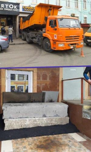 """Несколько кафе Москвы не хотели закрываться на карантин. Управа района нашла выход – """"забетонировать"""" их"""