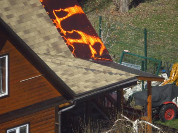 Священник покрыл часть приходского дома текстурой лавы. И угадать, о какой игре идёт речь, просто невозможно
