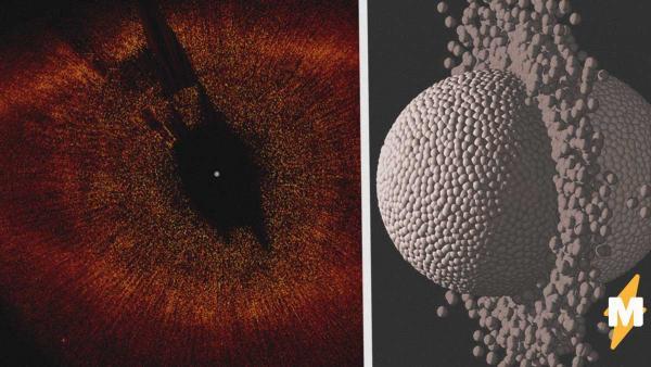 Учёные выяснили, что планеты могут разрушаться, сталкиваясь друг о друга. Совсем как пасхальные яйца