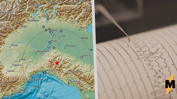 На севере Италии произошло землетрясение. Как будто этот регион недостаточно пострадал из-за коронавируса