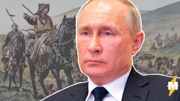 """""""Терзайте меня, печенеги"""". Владимир Путин высказался о """"коронавирусной заразе"""", и люди уже делают мемы"""