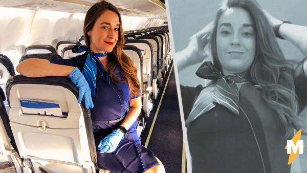 Стюардесса дважды перелетела страну в одиночестве. Вышло видео о самой бесполезной работе во время пандемии