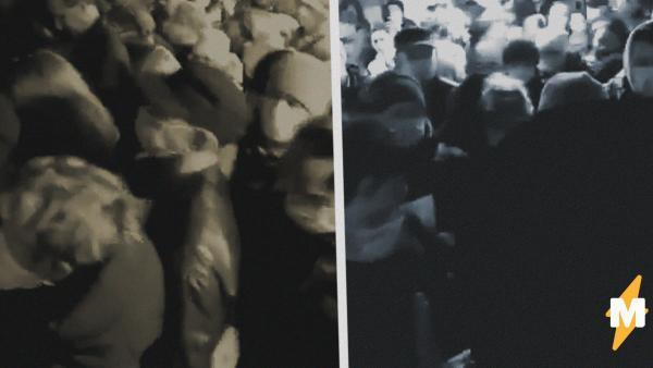 """Собянин сказал: пробки в метро пропали. Новые видео это опровергают, полиция требует от людей """"удостоверения"""""""