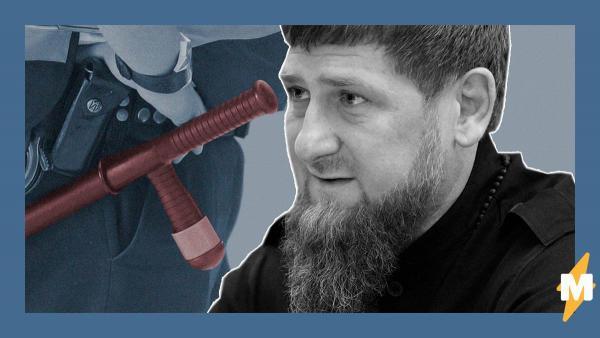 В Чечне полицейский избил человека за нарушение карантина. И вместо наказания он получит награду от Кадырова