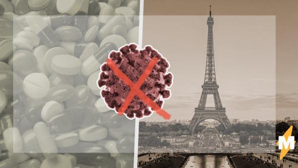 Врачи во Франции опробуют новую защиту от COVID-19. Она элегантнее, чем маски - но подойдет только взрослым