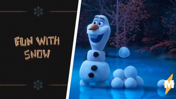 """Аниматор Disney один справляется с работой целой студии. Он создаёт сериал про Олафа из """"Холодного сердца"""""""