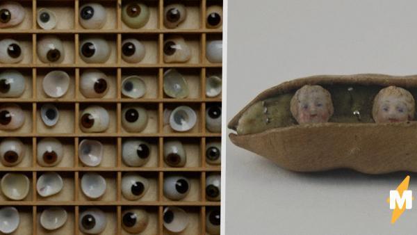 Музеи показали свои самые жуткие экспонаты. Криповые куклы - ещё ничего, но какие у них статуэтки русалок