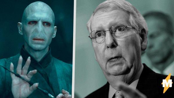 Политик дал интервью и стал крестражем Волдеморта. Ведь, соблюдая дистанцию, журналисты закосплеили магов