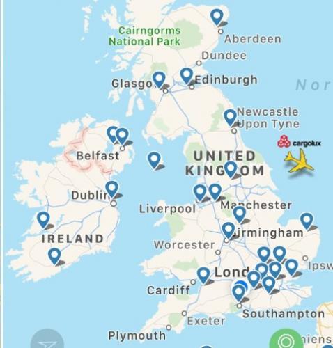 Великобритания впервые осталась без самолётов. Небо очистилось настолько, что в него никто не вернулся