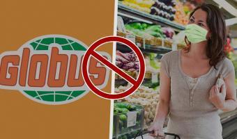 Гипермаркеты тоже вводят пропускной режим. Globus и Billa закроют вход для посетителей без масок