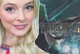 Стримерша разрыдалась из-за Final Fantasy VII Remake. Ведь голос одного из персонажей она знает всю свою жизнь