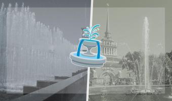 Фонтаны в Петербурге остались без воды, но коммунальщики нашли замену. И это лучший фон для карантинных фото