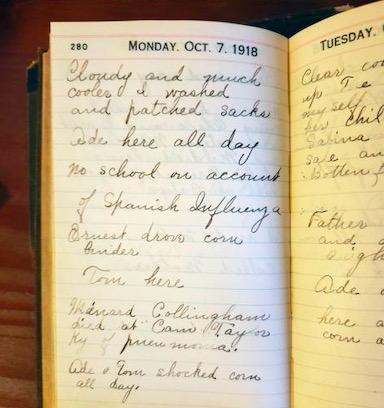 Внучка показала дневник бабушки, пережившей испанку. После прочтения самоизоляция 2020 года кажется сказочной