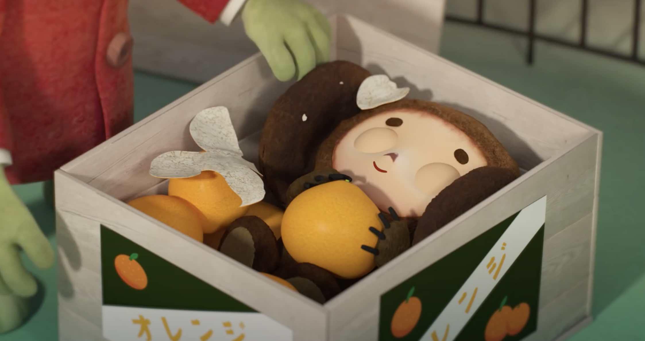 Японцы выпустили 3D-мультфильм про Чебурашку икрокодила Гену