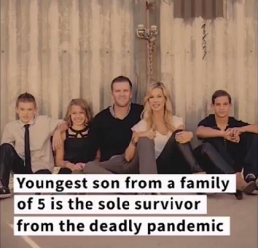 Женщина узнала из рекламы, что её семья погибла от COVID-19. Но, взглянув на домашних, поняла, что это не так