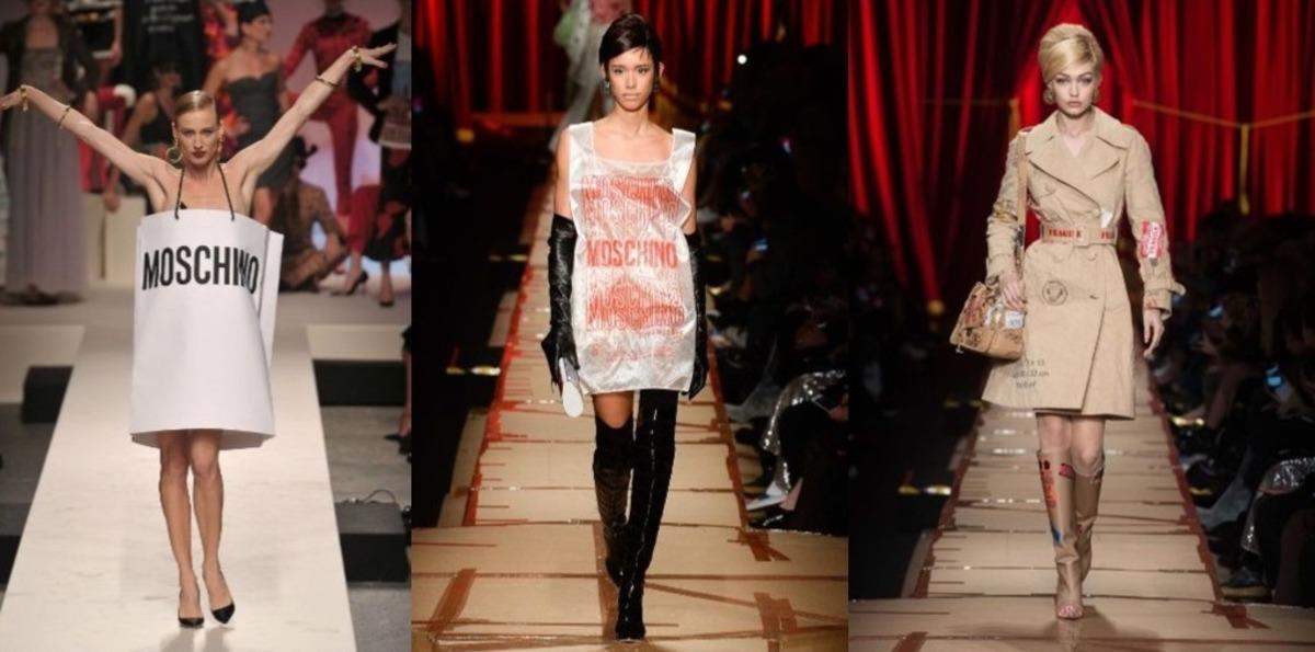 Женщины показали, как можно сделать платье из пакета. Высокая мода ещё никогда не была настолько доступной
