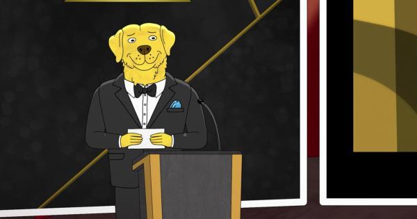 """Пёс рассказал, что чувствует из-за карантина, в фильме хозяина. Похоже, этот хороший мальчик заслужил """"Оскар"""""""