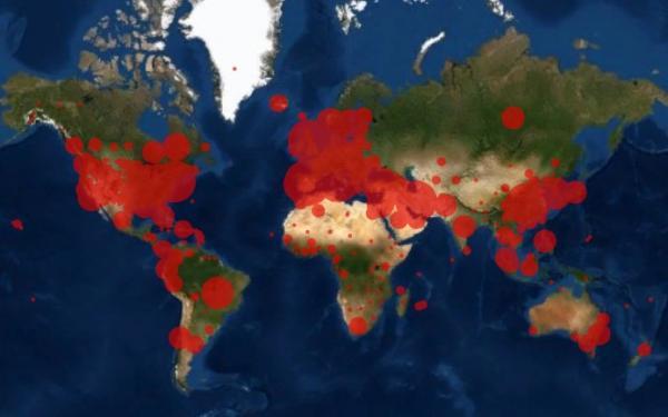 Число инфицированных коронавирусом превысило миллион. В Сети (внезапно) поздравляют всех причастных с юбилеем.