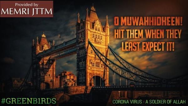 """Не коронавирус, а солдат Аллаха. Так """"Исламское государство"""" назвало COVID-19"""