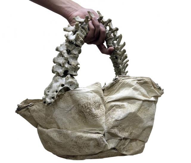 Дизайнер попал под опалу из-за сумки не для слабонервных. Ведь аксессуар якобы сделан из скелета человека