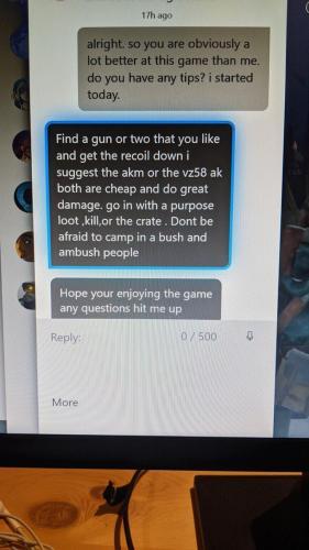 Парень решил пообщаться с игроком, лишившим его всего в Vigor. И получил ответ, который вселяет веру в людей