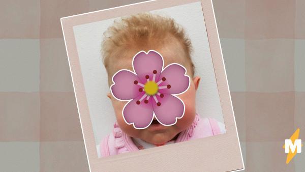 Мама делала фото младенца на паспорт и удивилась, увидев результат. Похоже, девочку очень злит 2020 год