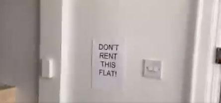 Хозяин попросил парня съехать с квартиры и снять видео комнат. Но после такой рекламы у него не будет жильцов