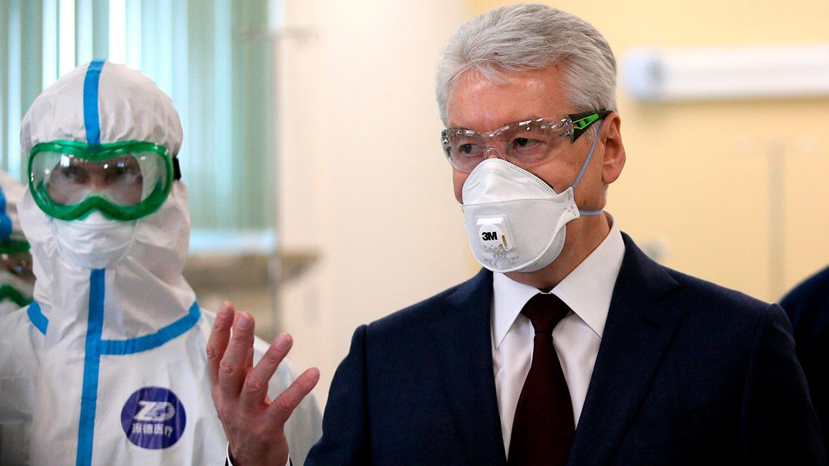 Собянин рассказал, сколько людей в Москве заражено COVID-19. И так разошёлся со статистикой, что это пугает