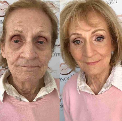 Девушка сделала невозможное и омолодила 80-летнюю бабулю вдвое. Но это не магия - понадобилась лишь косметика