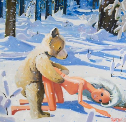 Зрители увидели на видео с Андреем Малаховым неприличную картину. Тот факт, что она старая, не помешал шуткам