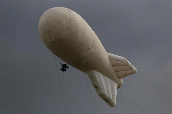 """Для слежки за жителями Подмосковья Росгвардия призвала надувное облачко. Его зовут аэростат """"Око"""""""