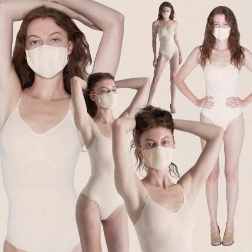 Ким Кардашьян показала на темнокожей модели черные маски от SKIMS. Люди купили товар, но обвинили в расизме