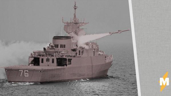 Иранские военные пустили ракету в свой корабль во время учений. По Сети распространяются видео с жертвами