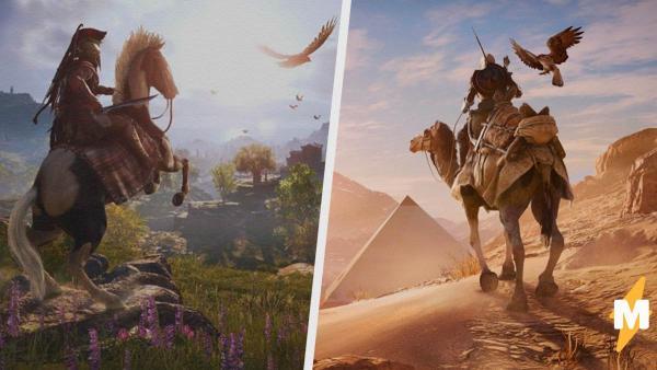 Игры Assassin's Creed превратились в туры по древнему миру. Это музей, в котором экспонаты можно трогать