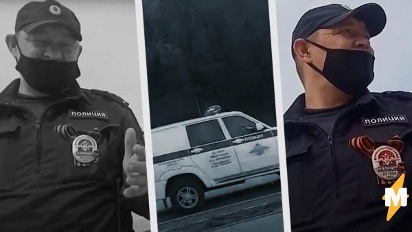 Полицейского из Чувашии достали нарушители самоизоляции. На видео он угрожает одному из них стрельбой
