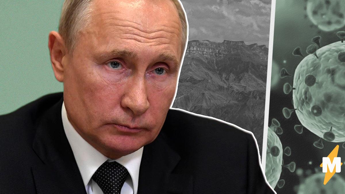 Владимир Путин объяснил плохую статистику COVID-19 в Дагестане. Оказалось, виноваты сами жители республики