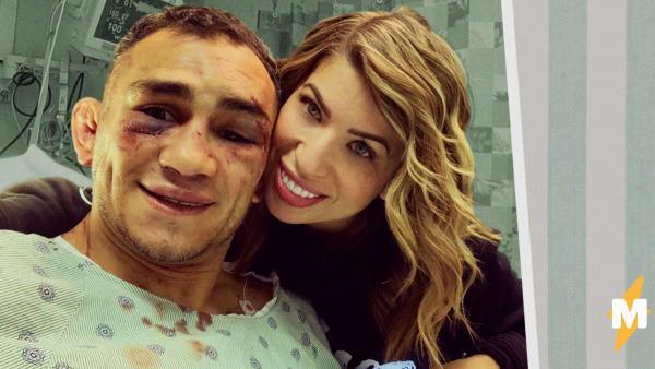 Боец UFC Тони Фергюсон станцевал с капельницей на видео. Поражение в бою принесло ему перелом - но не сломило