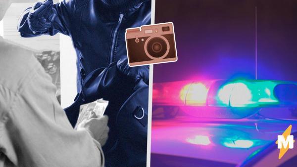 Мужчина вызвал полицию, когда понял, что банк ограбили. Но увидев, кто вор, копы не смогли сдержать смех