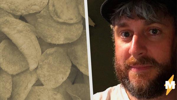 Мужчина нашёл чипс, который даст фору любому рекордсмену. Это тот случай, когда размер правда имеет значение