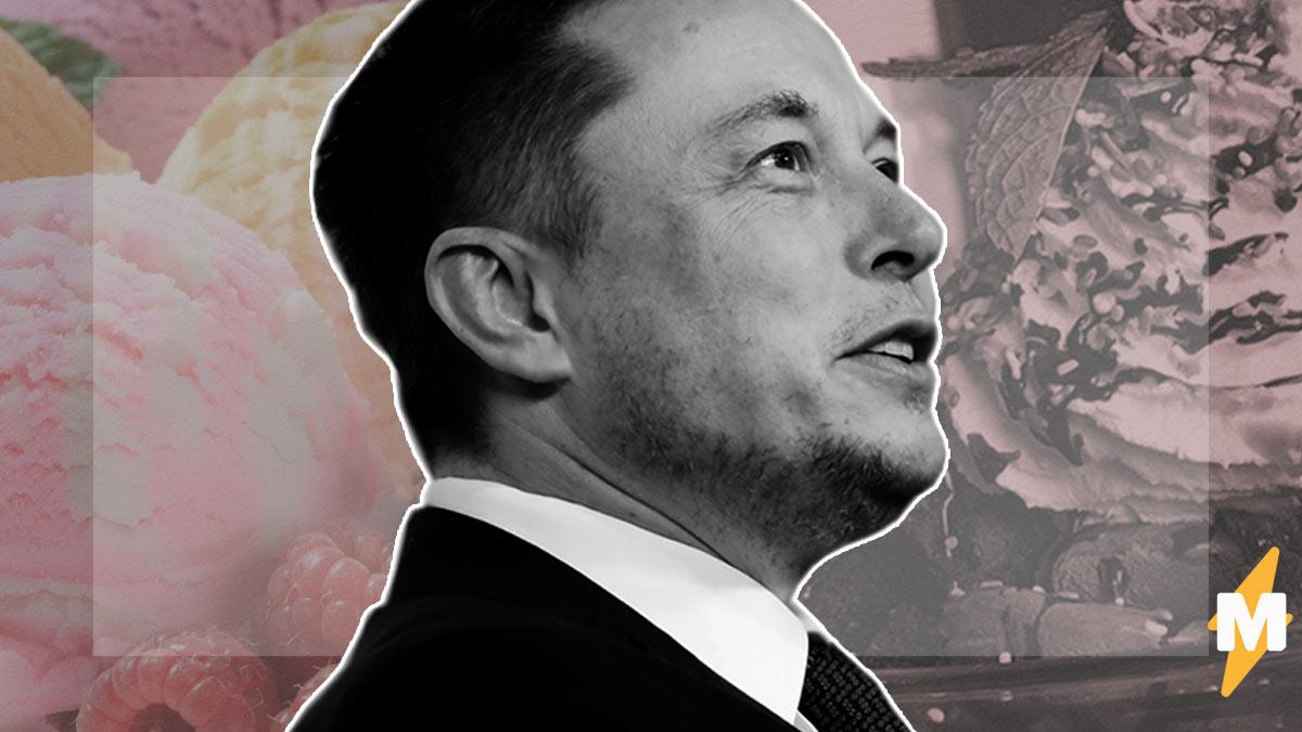 Илон Маск показал десерт и даже за это схлопотал критику. Ведь люди нашли источник фото и заподозрили неладное