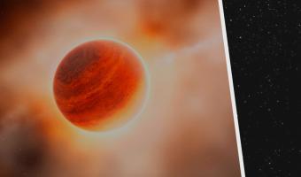 Астрономы впервые увидели, как рождается новая планета. И на фото она «толкается» – совсем как ребёнок