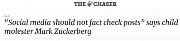 Марк Цукерберг высказался против фактчекинга в соцсетях. А благодаря троллям теперь узнает о себе много нового