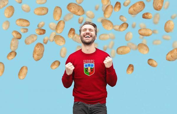 «Мы уютная страна – лапочки и няши!» Белоруссия заказала герб у студии Лебедева – с котами и картошкой