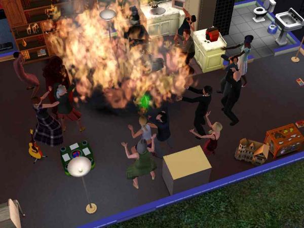 Семья хотела приготовить ужин, но воплотила скрипт The Sims. Да, тот самый, из-за которого горят дома (и люди)